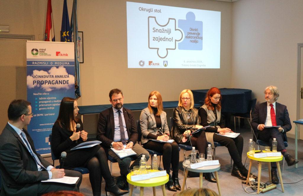 Snažniji smo zajedno! Civilni, javni i privatni sektor u borbi protiv elektroničkog nasilja