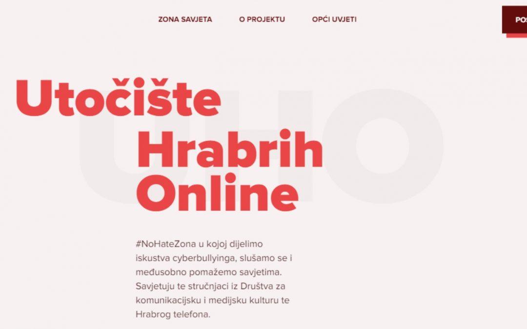 Rezultati druge faze projekta UHO – Utočište hrabrih online